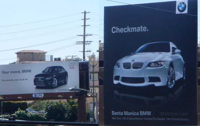 ad wars BMW advertising