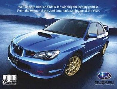 ad wars, Subaru ad