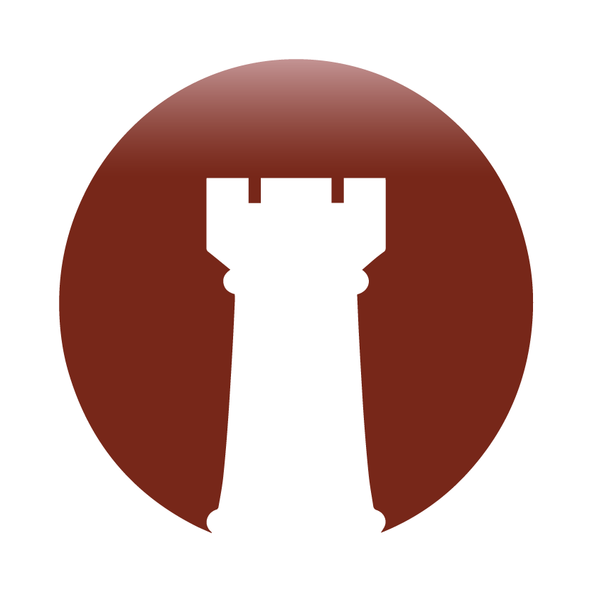 Brand chess icon tower