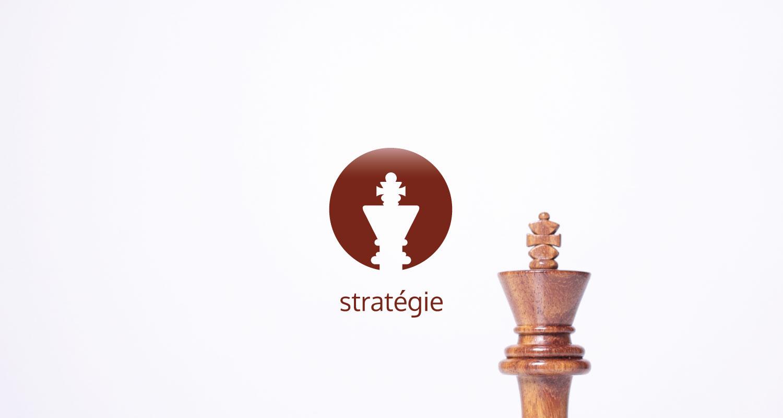 Fortified stratégie icon et pièce d'échec roi
