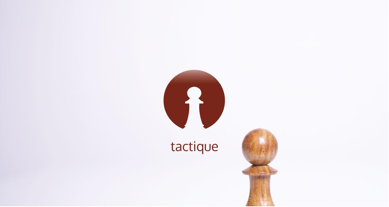 Tactique icon et pion d'échec